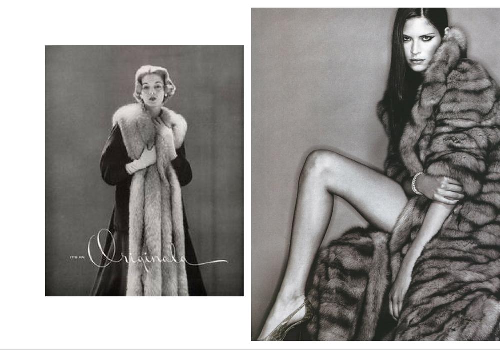 fur coats photos past