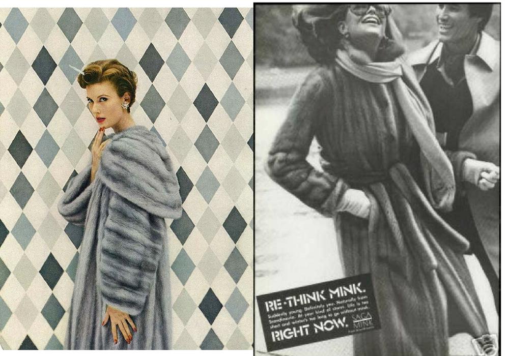 elegant furs many years ago