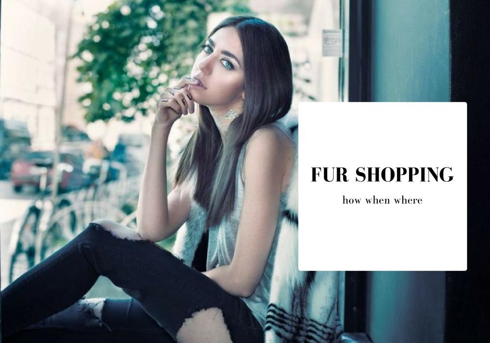 fur shopping tips