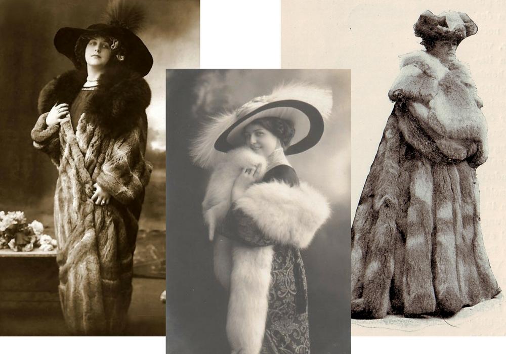 fur stole 1900