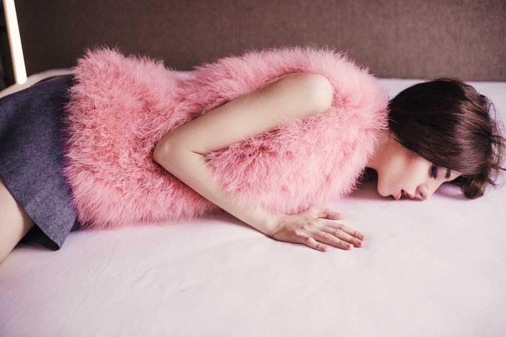 pink vest in murmasky