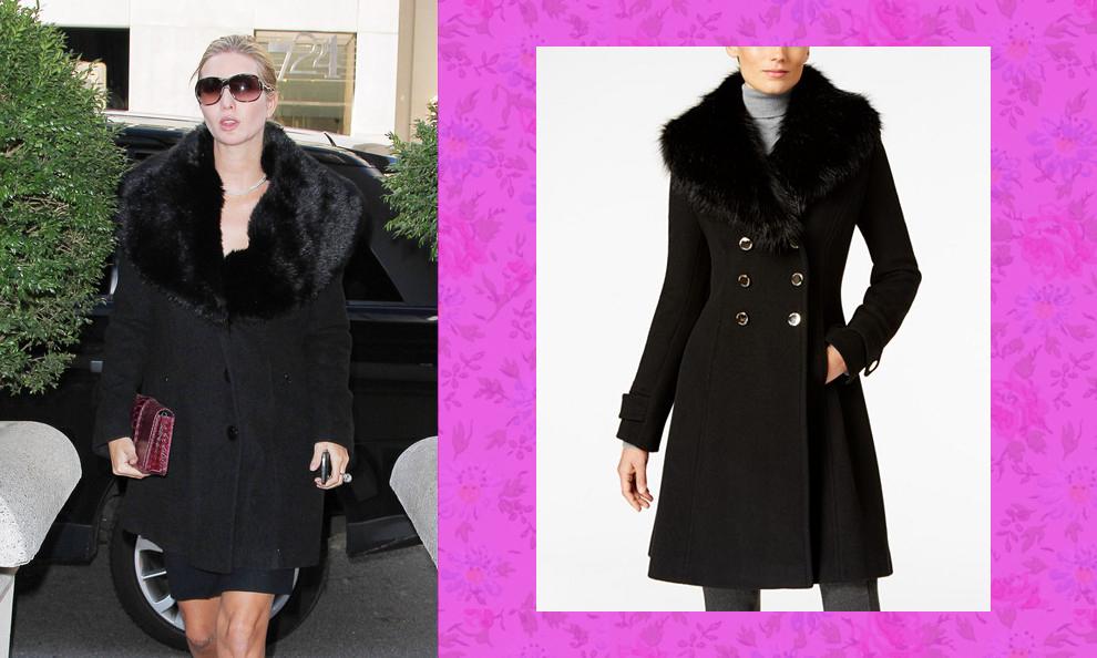 fur jacket trump style