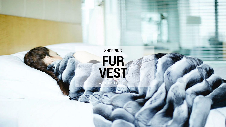 fur vest ladyfur