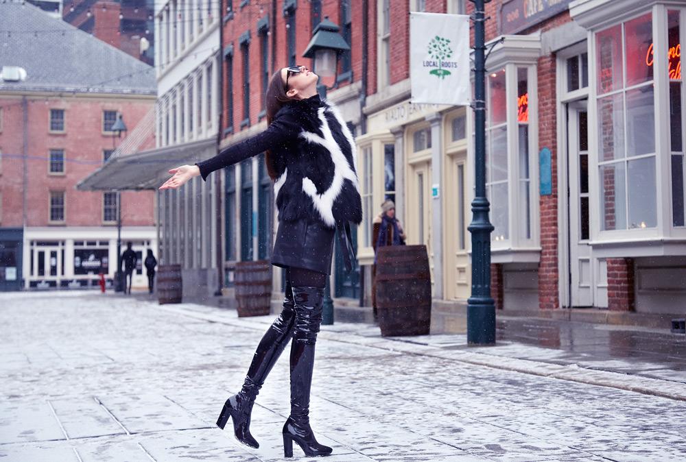 fur vest lady fur new york