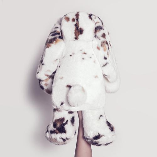fur toys bunny in real fur lady fur