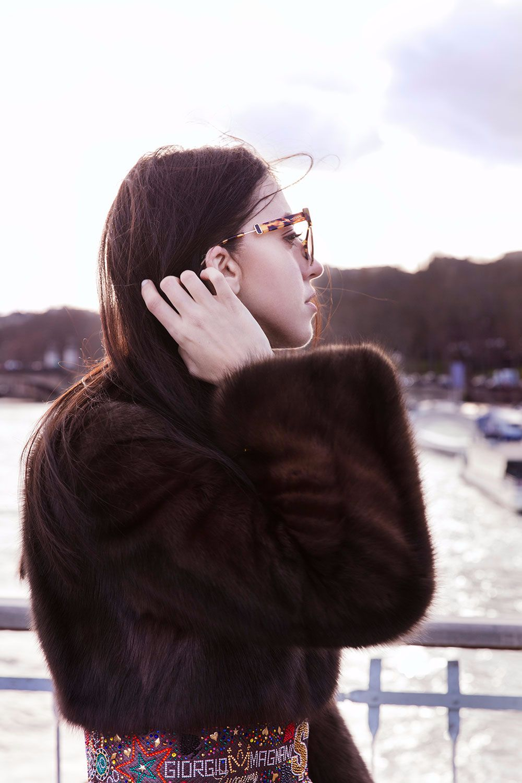 sable jacket lady fur