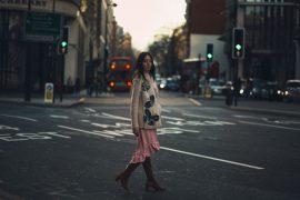 lady fur wearing di carlo london