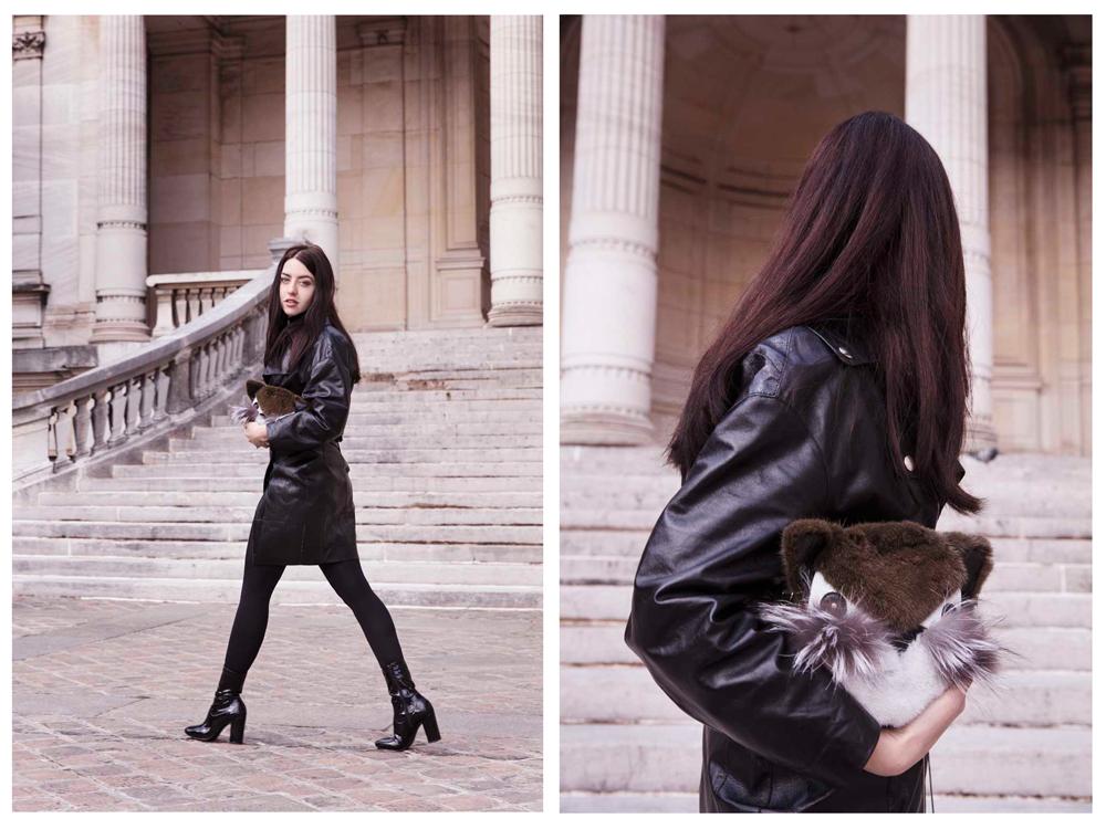 fur bag oh by kopenahgen fur