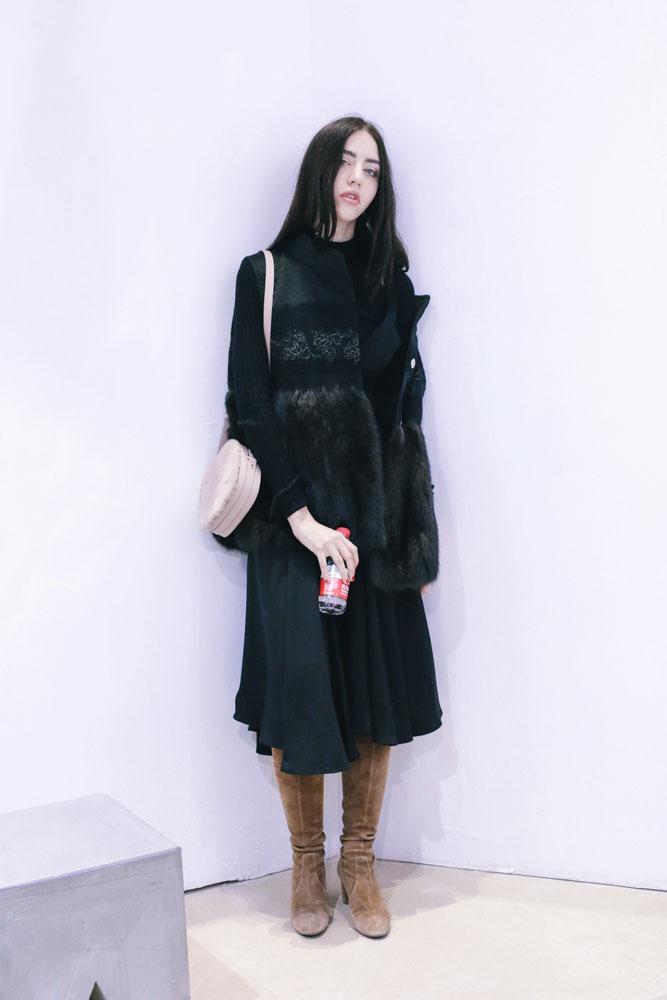 cheap fur vest