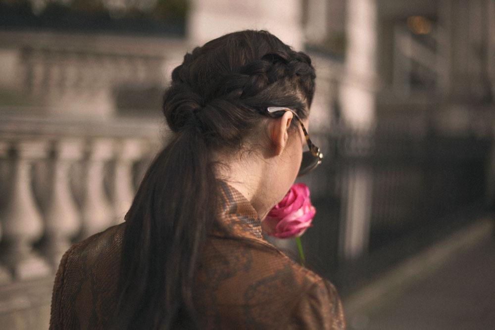 lady fur london python jacket