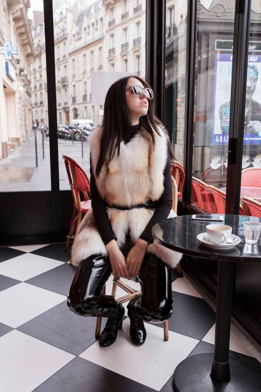 lady fur rachel coat