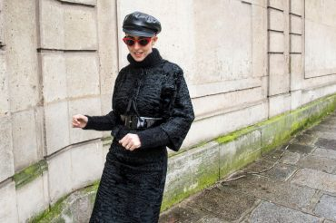 fur tailleur lady fur couture week