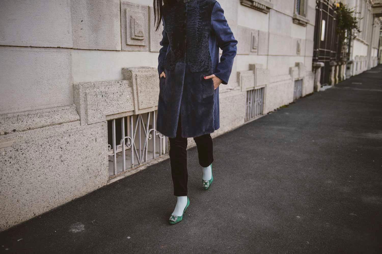 fur jacket swa kara and mink