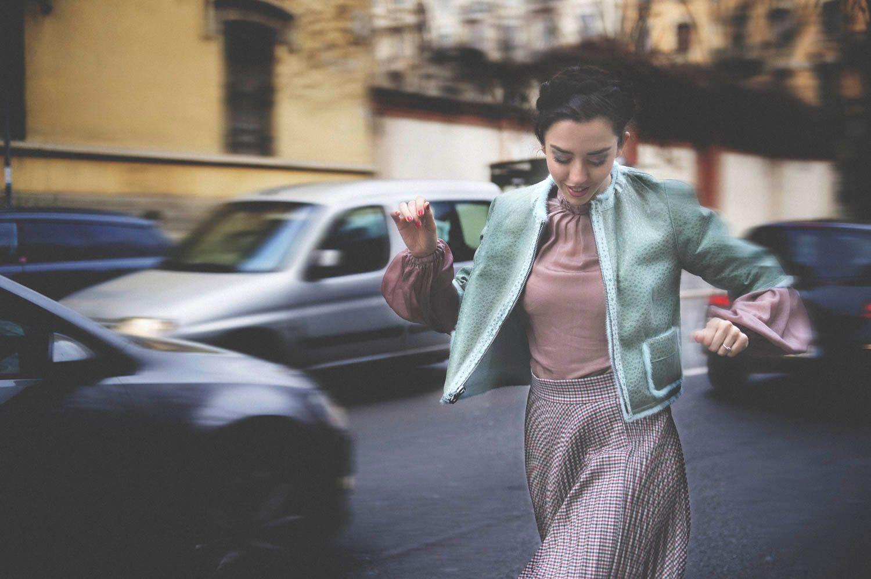 running milan fashion week