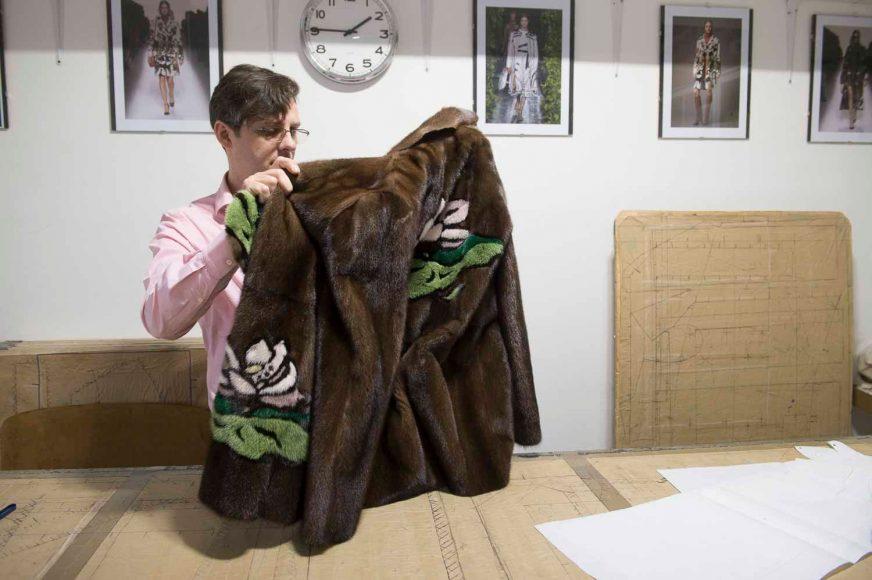 revilo pellicce fur mink coat