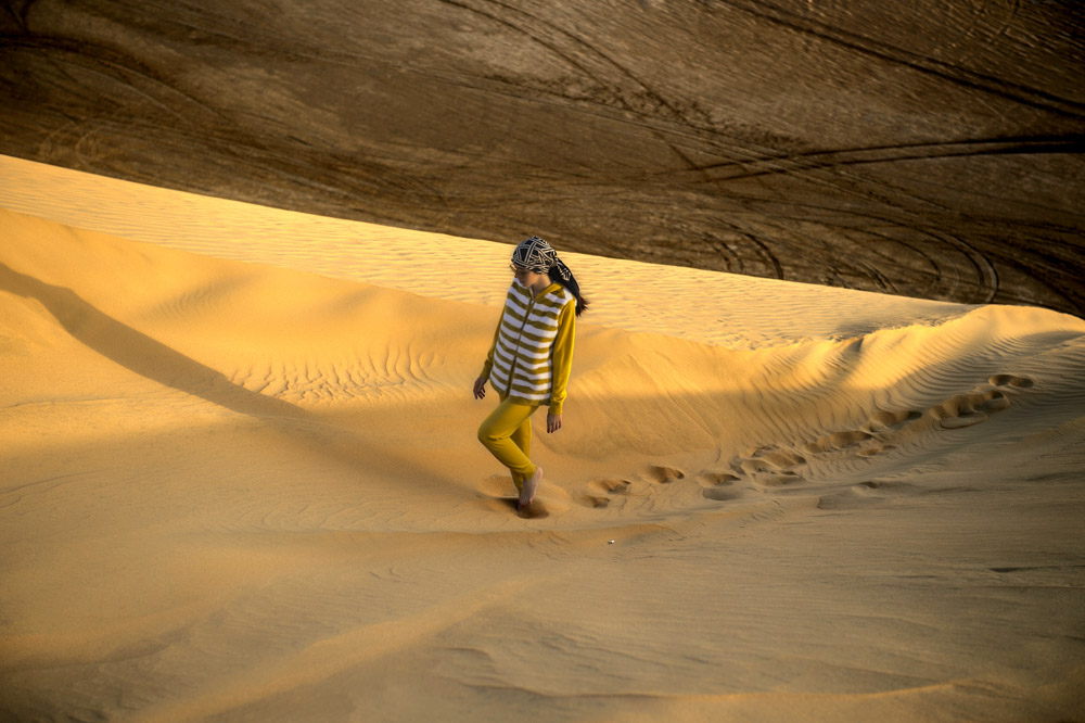 fur vest qatar desert