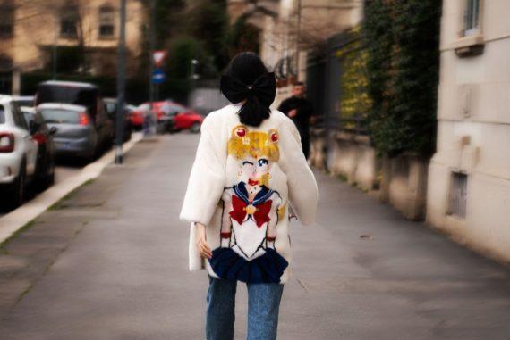 sailor moon fur coat creamy mami fur coat