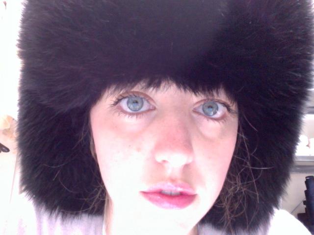 lady fur morning