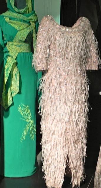 Palace of Venaria fashion show green dress
