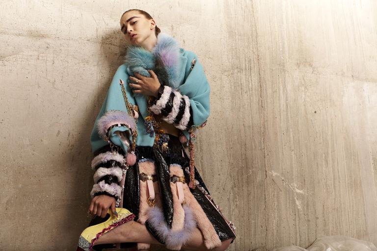 fur clothes Angela Brandys