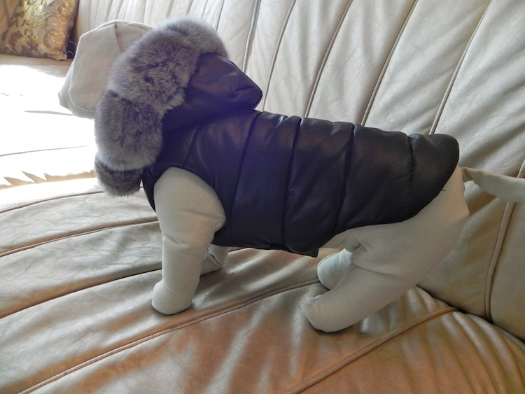 complete dog fur luxury clothes