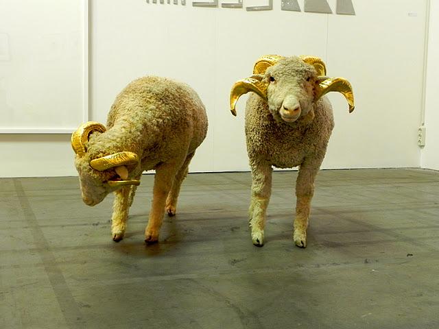 artissima turin art fair sheep art