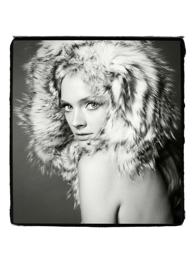 Costance Jablonsky fur clothes