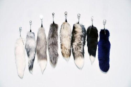 fashion fur tail