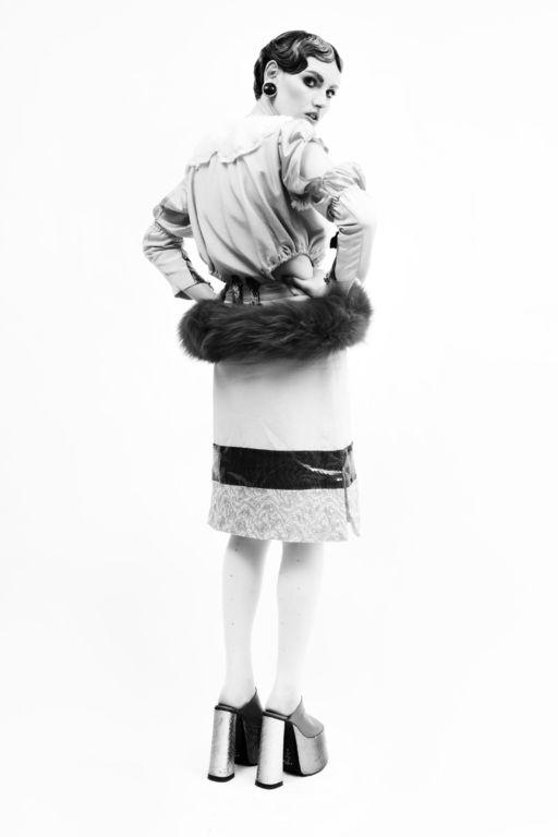 fur fashion of Angela Brandys