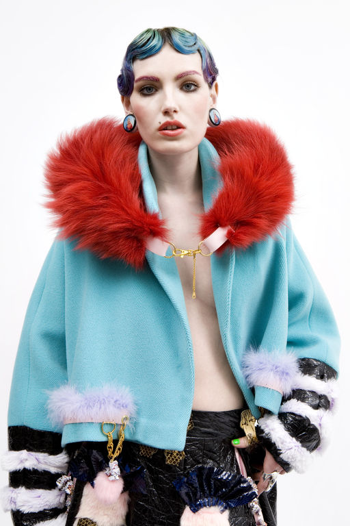 Angela Brandys fur fashion