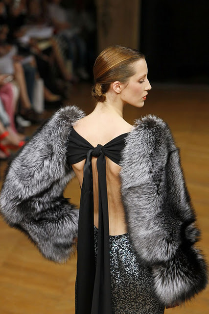 Alexis Mabille fur coat