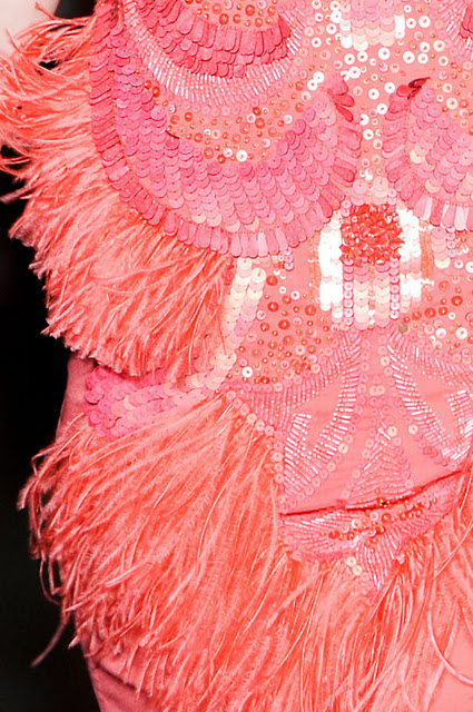 pink red fur accessories