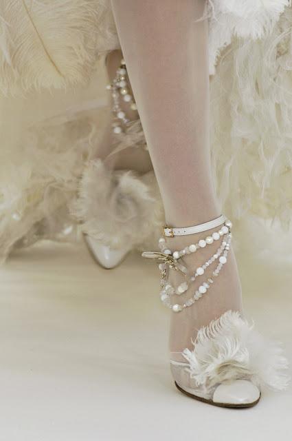 Fur elegant high heel shoes