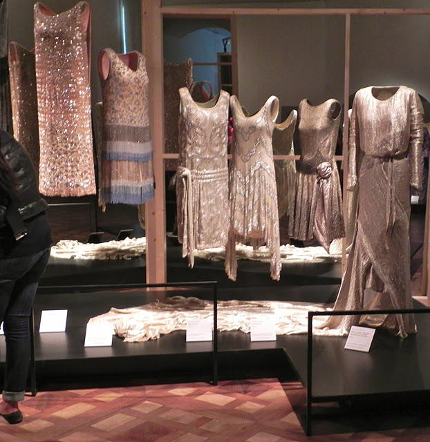 Fashion dresses inside show in Palace of Venaria