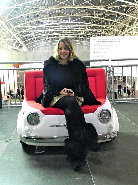 lady fur in artissima art fair 2011