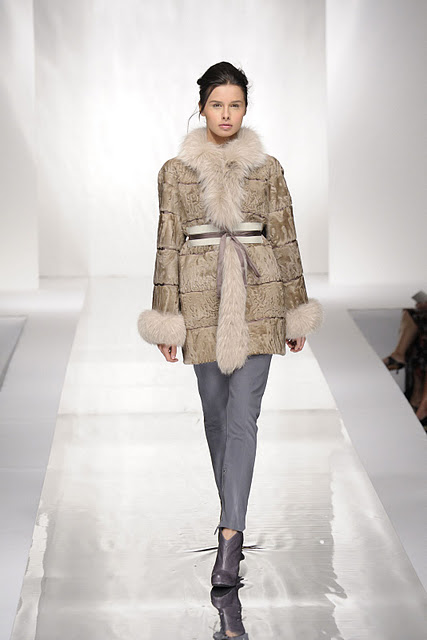 Carlo Ramello elegant fur coat