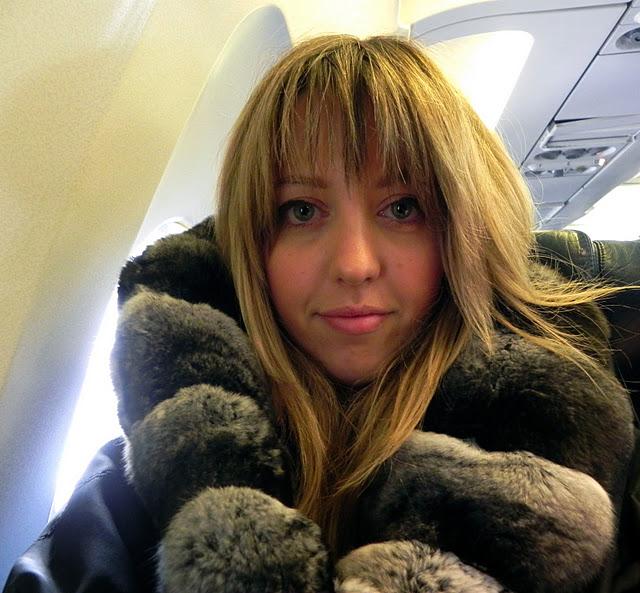 lady fur rain chinchilla jacket