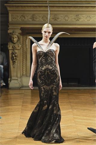 Alexis Mabille fashion dress